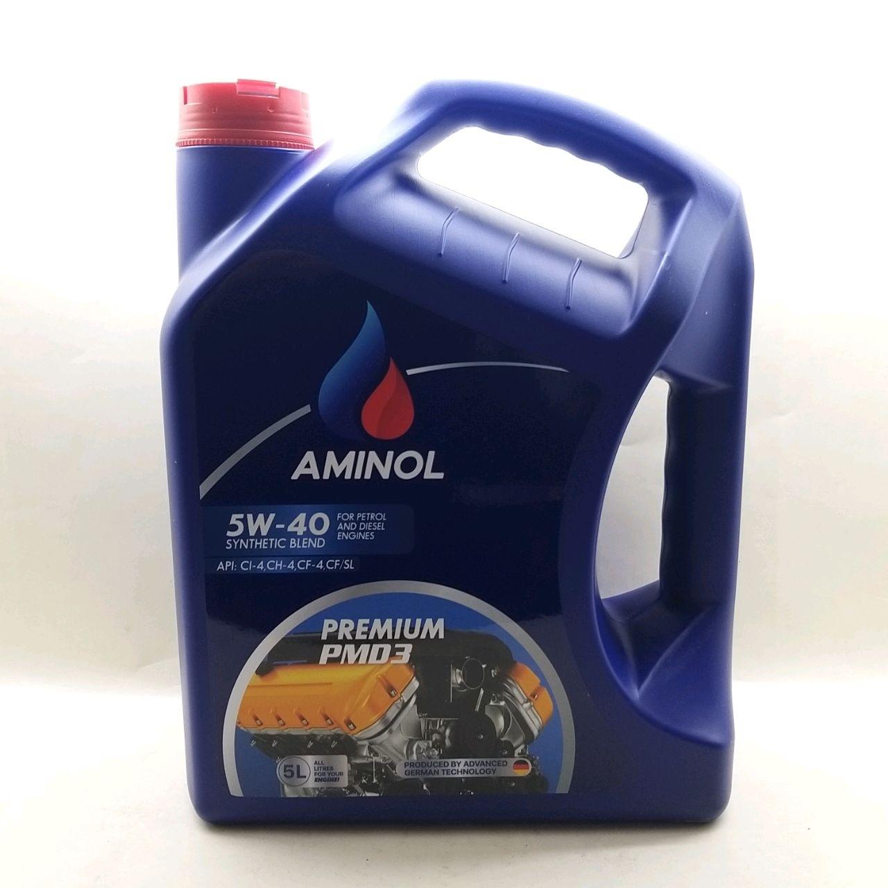 (250944)Aminol PREMIUM PMD3 5w-40 (CI-4/SL) 5L.
