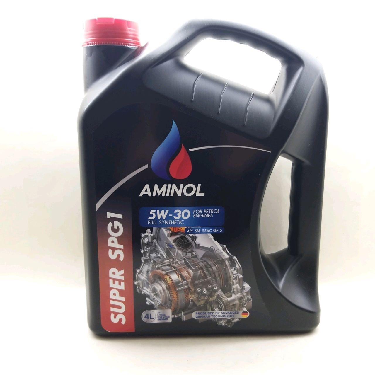 (251668)Aminol SUPER SPG1 5w-30 (SN/CF) 4L.