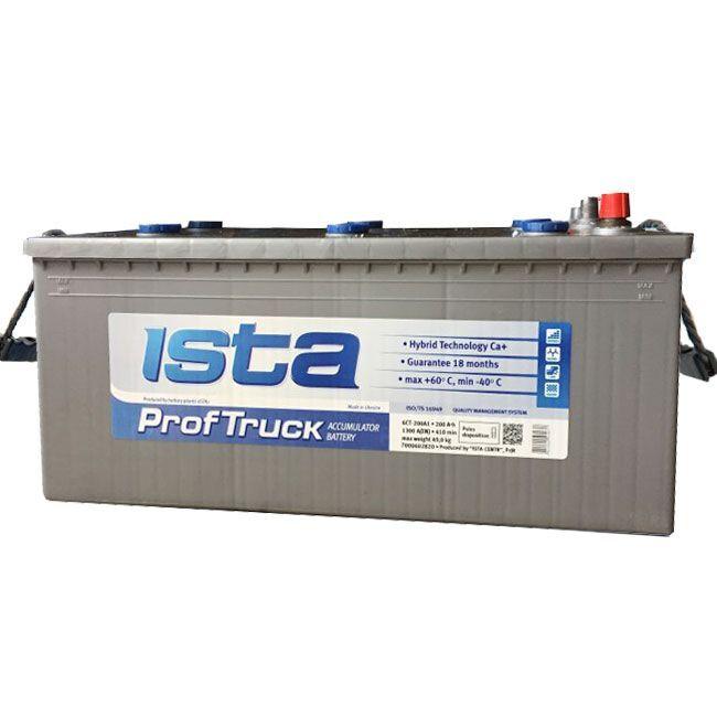 АКБ ISTA (Prof-Truck) 190Ah