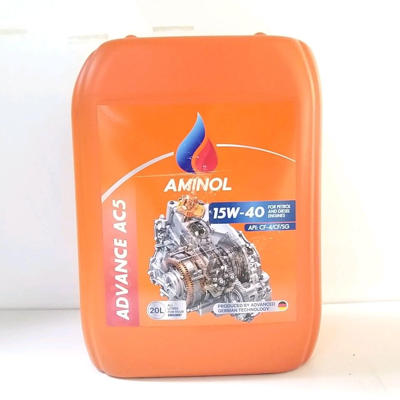 Aminol ADVANCE AC5 15w-40 (CF-4) 20L.
