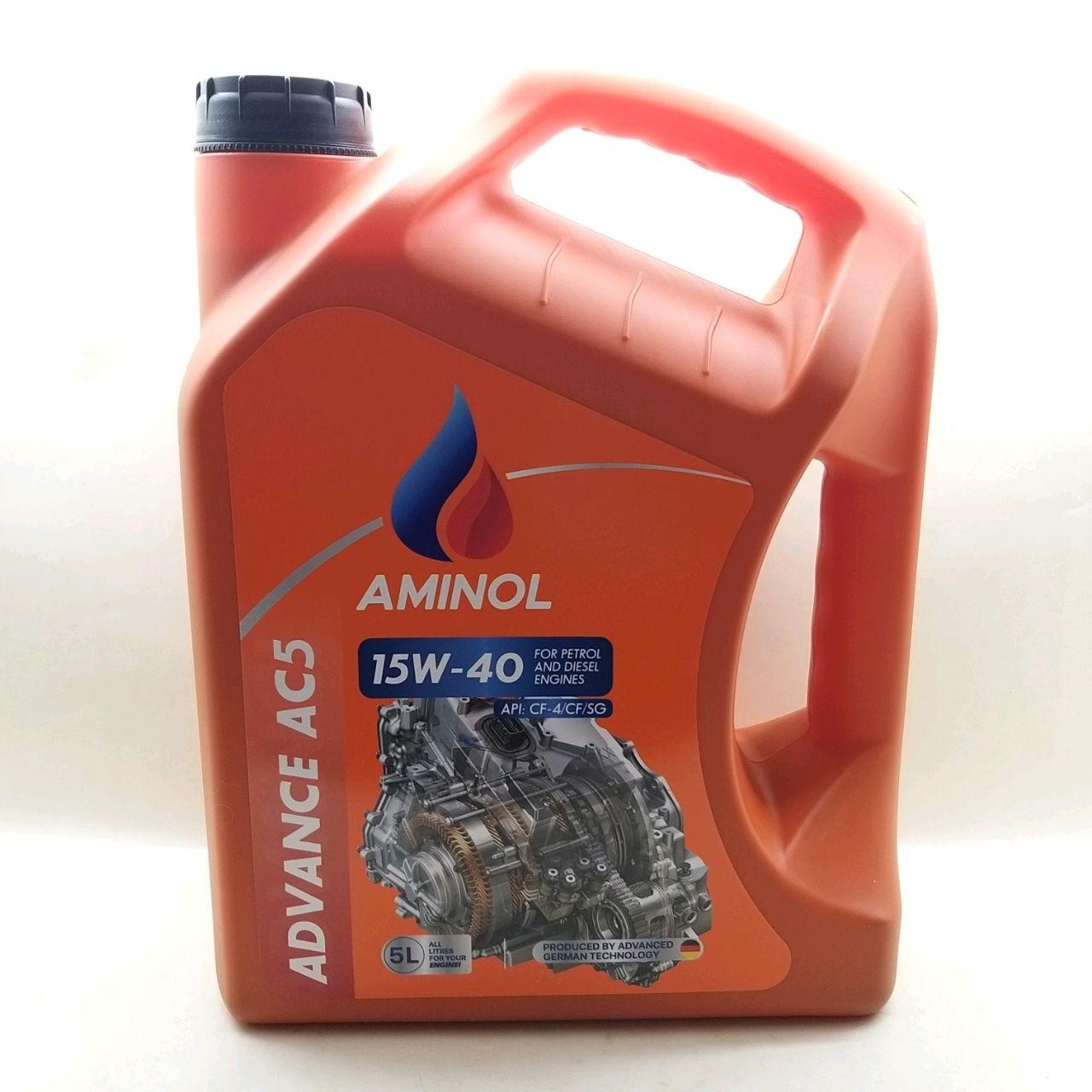 Aminol ADVANCE AC5 15w-40 (CF-4) 5L.