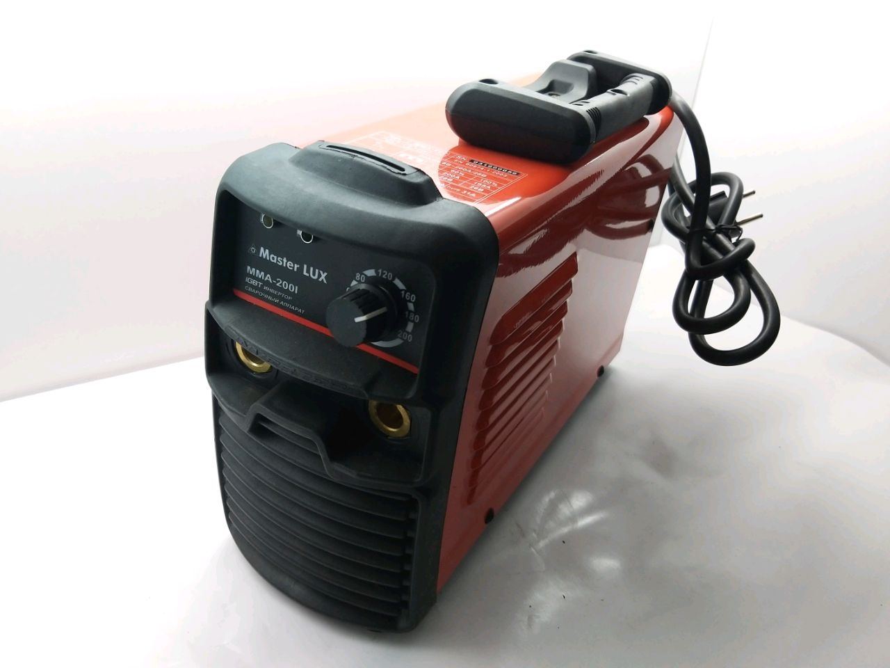 Aparat de sudare invertor MMA200 (Conector mare)