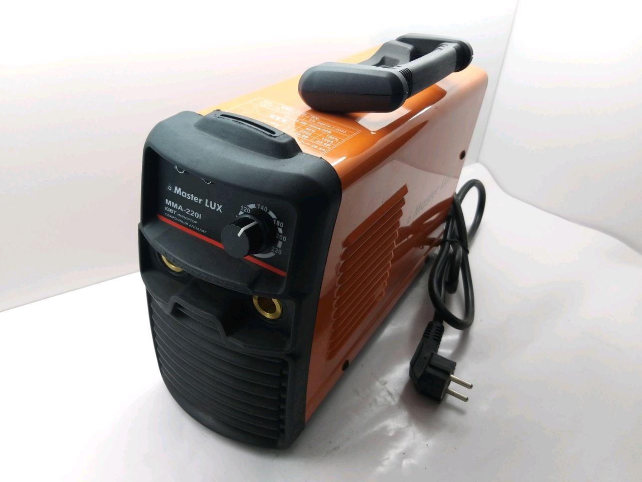Aparat de sudare invertor MMA220 (Conector mare)