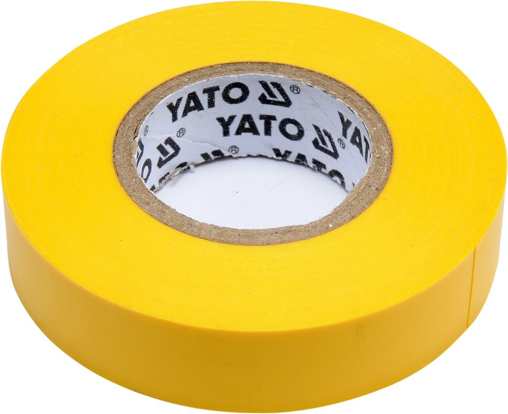 Bandă izolantă 15mm 20m galben