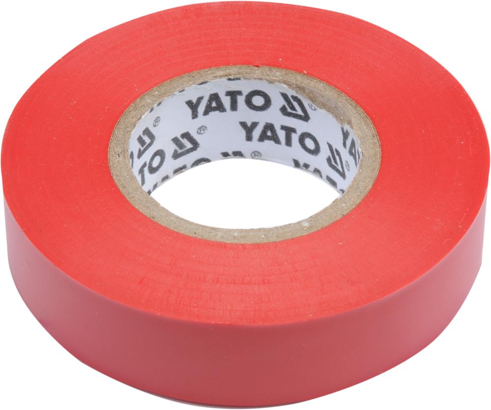 Bandă izolantă 15mm 20m roşu