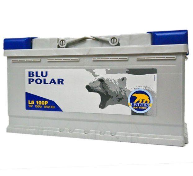 Baterie auto BAREN (Blu polar) 100Аh E