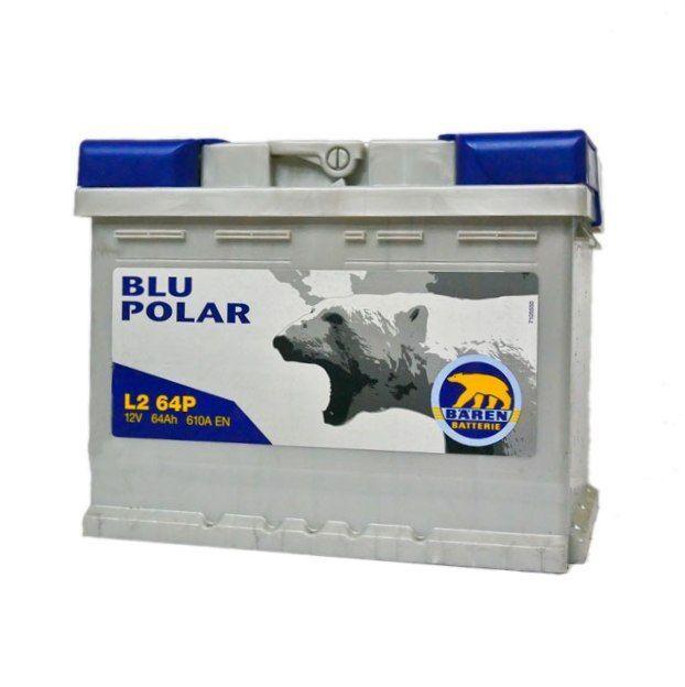 Baterie auto BAREN (Blu polar) 64Аh E