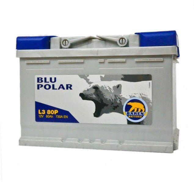 Baterie auto BAREN (Blu polar) 80Аh E