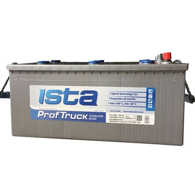 Baterie auto ISTA (Prof-Truck) 190Ah