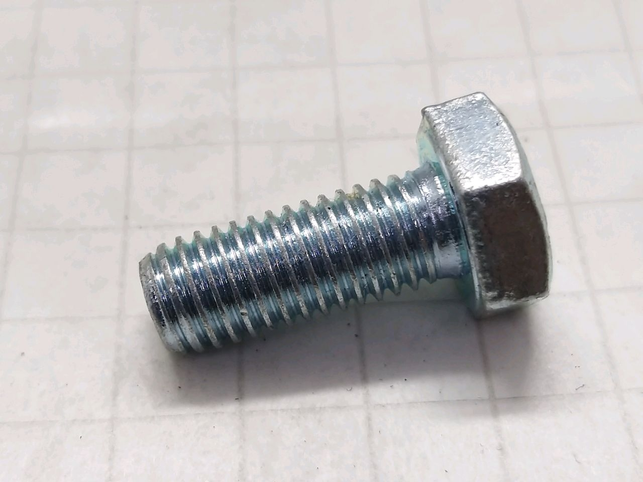 Bulon 12х35M DIN933 8.8 zinc.