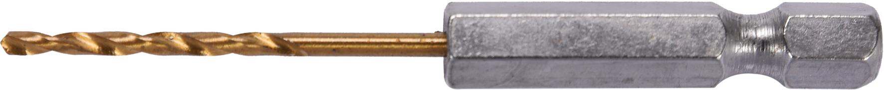 Burghiu HSS-TiN 2.0mm (1/4 HEX)
