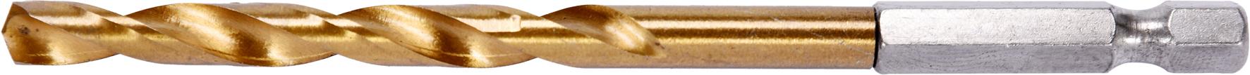 Burghiu HSS-TiN 6.0mm (1/4 HEX)