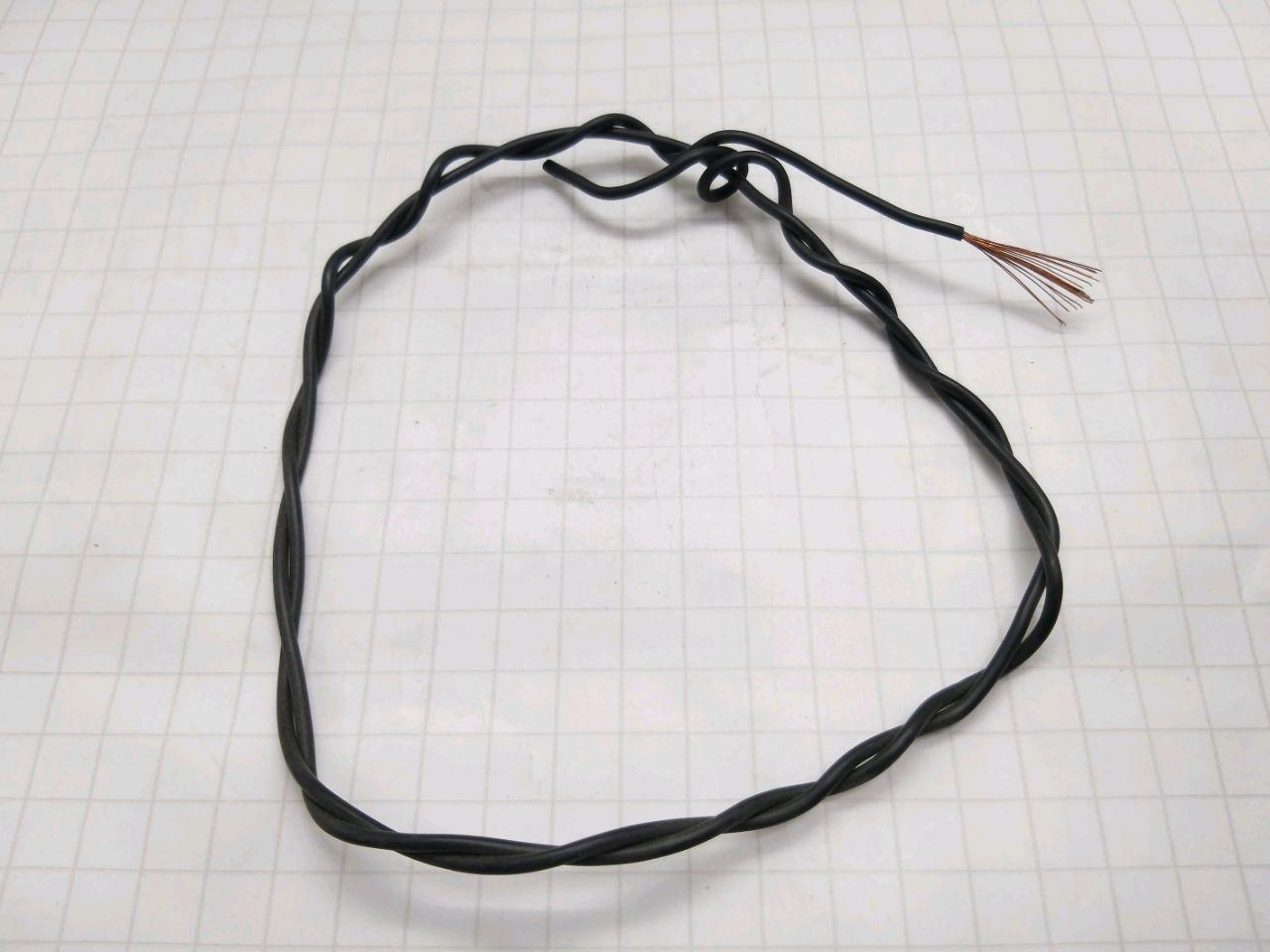 Cablu electric PV-3 1,0 (negru)