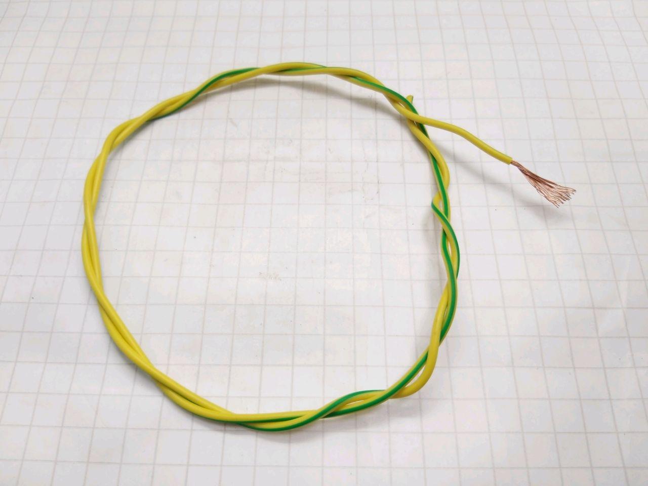 Cablu electric PV-3 1,5 (galben-verde)