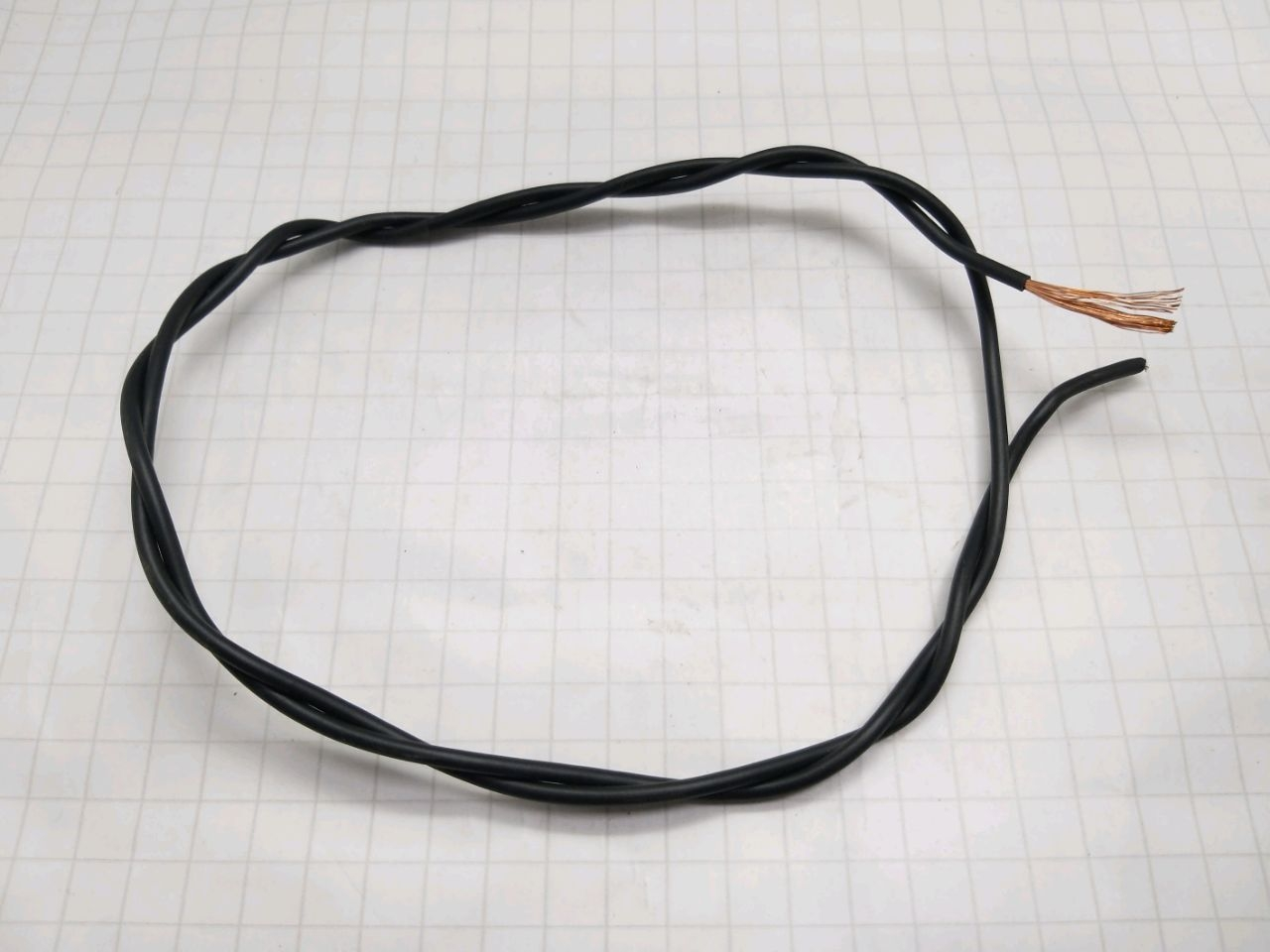 Cablu electric PV-3 1,5 (negru)