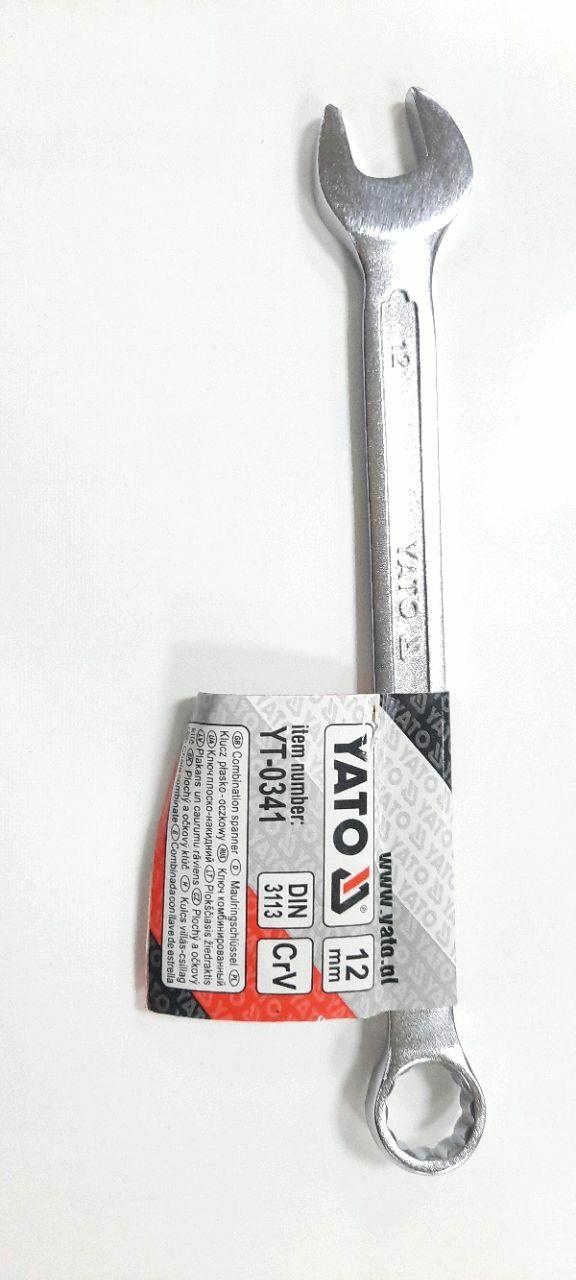 Cheie combinată 12mm SATIN