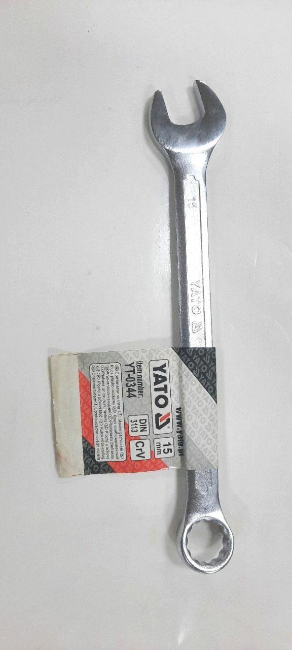 Cheie combinată 15mm SATIN
