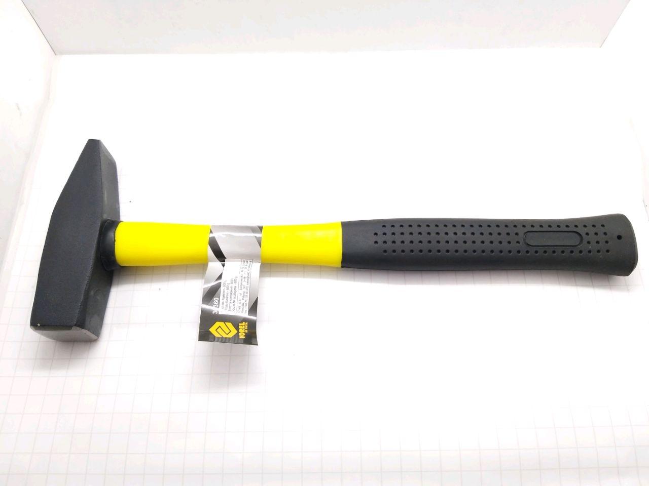 Ciocan cu mîner fiberglas TUV/GS 600g