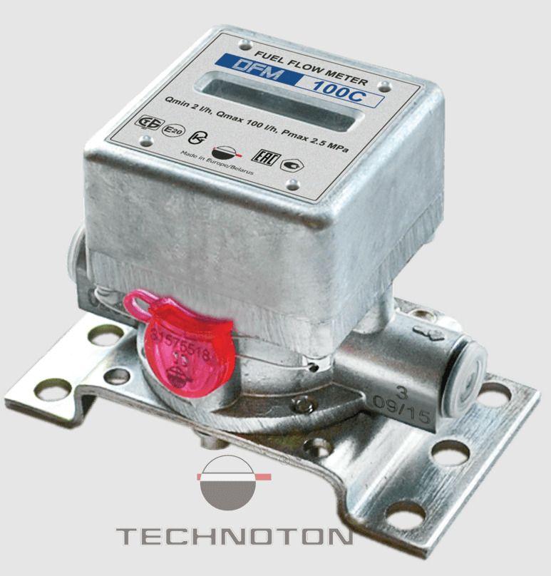 Contor de combustibil DFM 100 B (cu ecran)