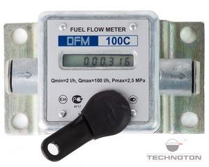 Contor de combustibil DFM 100 C (cu ecran)