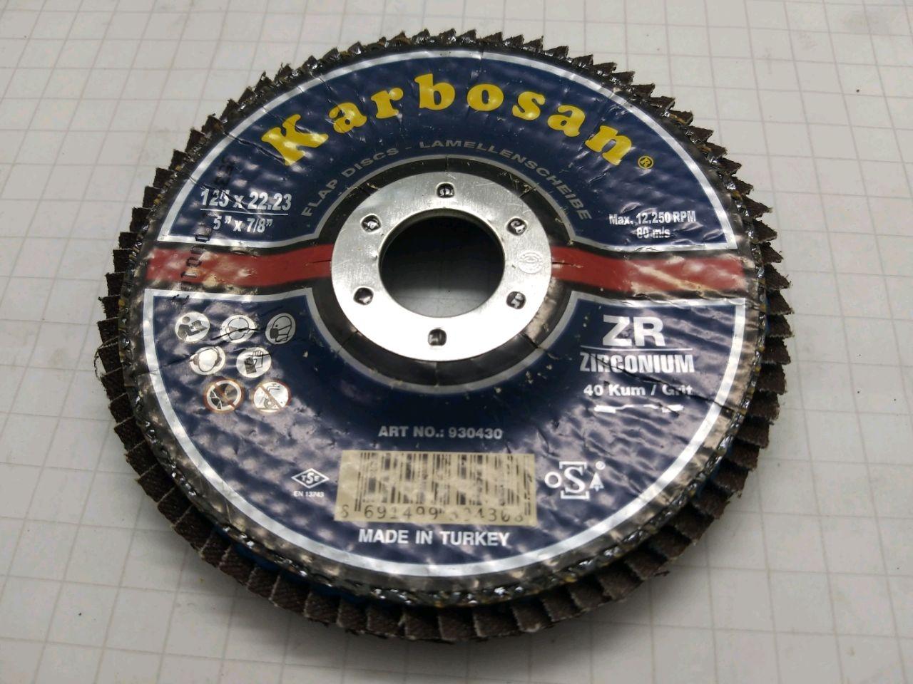 Disc abraziv 125x22 ZR60