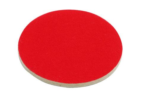 Disc p/u lustruire din fetr 125mm