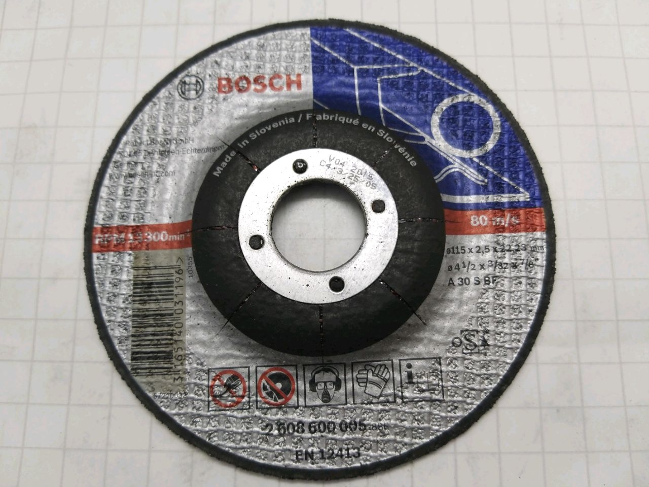 Disc taiere metal 115 * 2.5