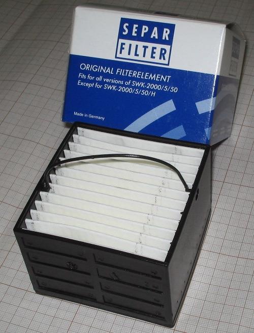 Element de filtrare SEPAR 2000/5 (30 micron)