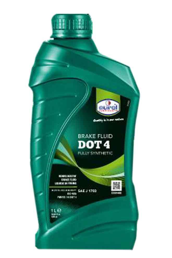 Eurol Brakefluid DOT 4 1L
