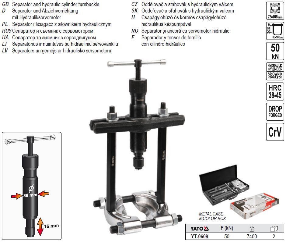 Extractor hidraulic