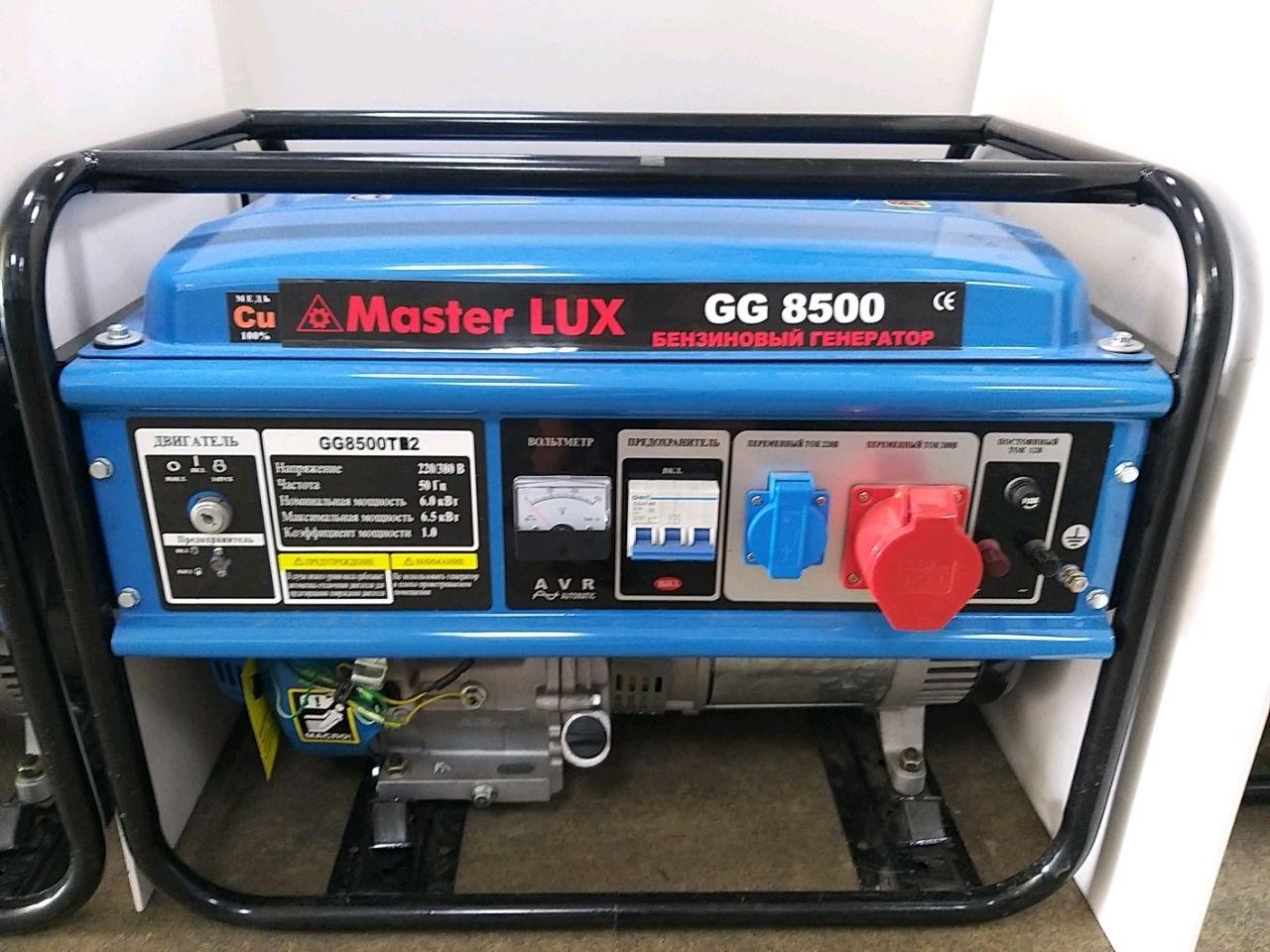Generator benz. 6KW, 380V, Start manual