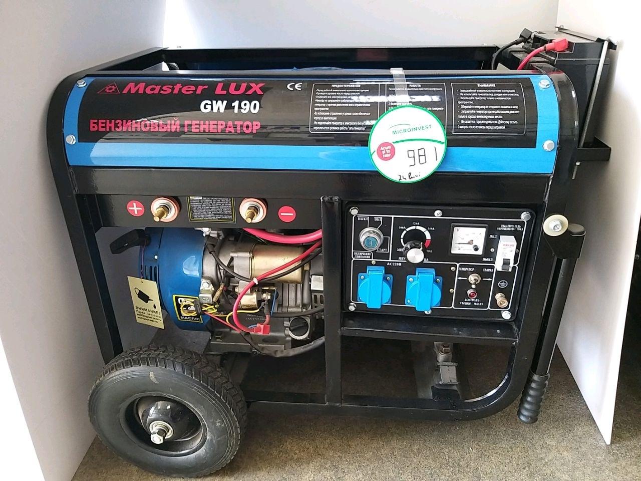 Generator electric GW190