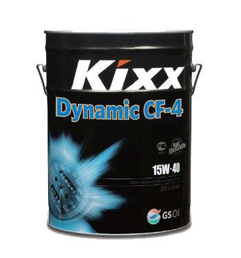 Kixx HD CF-4/SG 15W-40 20L