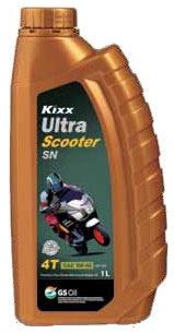 Kixx Ultra 4T Scooter SN 5W-40 1L