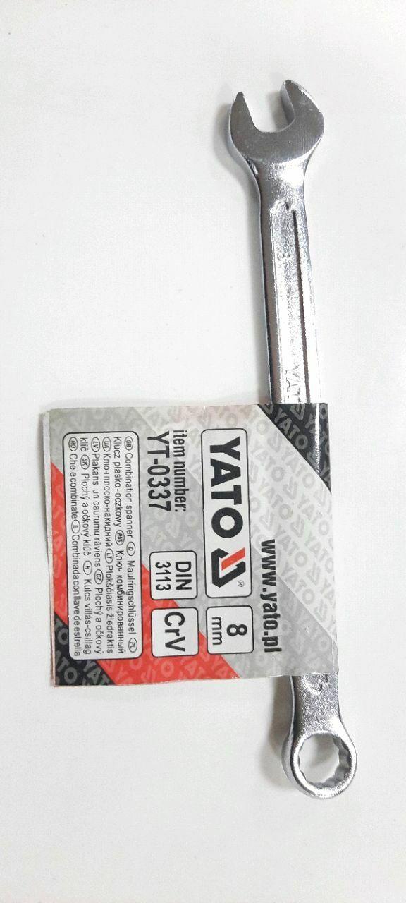 Ключ комбинированный 8мм САТИН