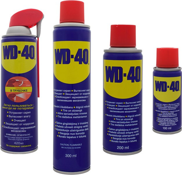 Lubrifiant universal WD-40