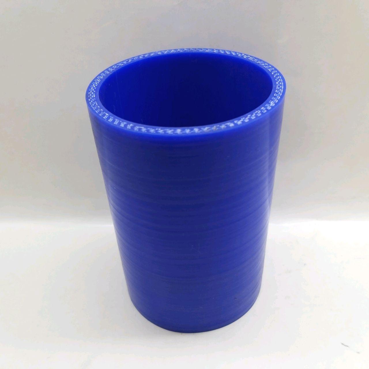 Manşon de radiator KAMAZ (inferior)(albastru)(anal