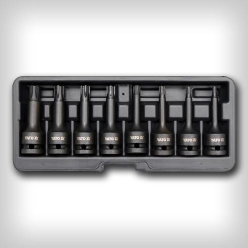 Набор ударных насадок TORX Т30-Т80 1/2 8шт