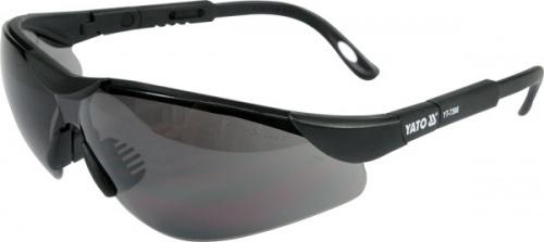 Ochelari de protecţie cu lentilă neagră