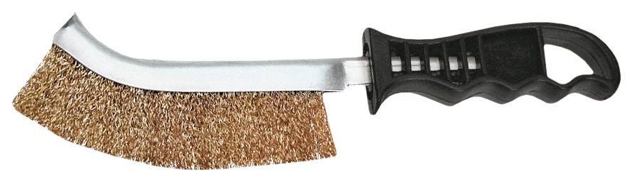 Perie de sârmă cu mâner din plastic