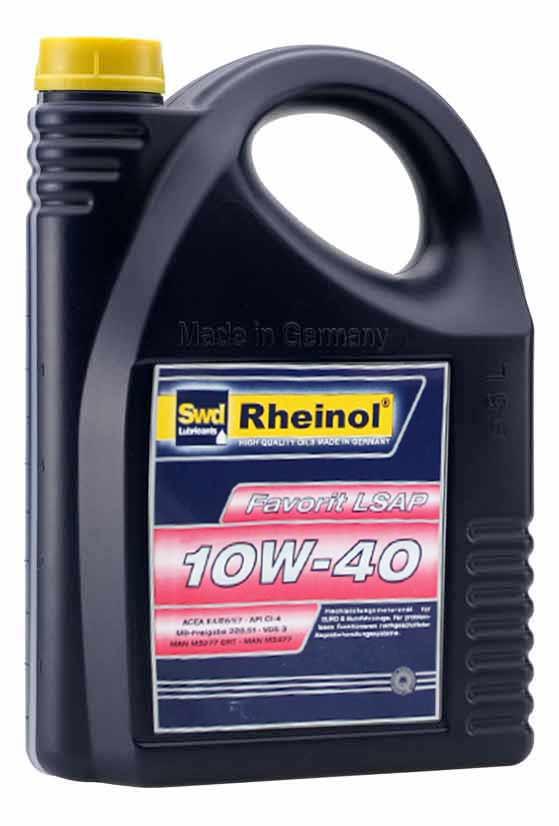Rheinol Favorit LSAP 10W-40  5L