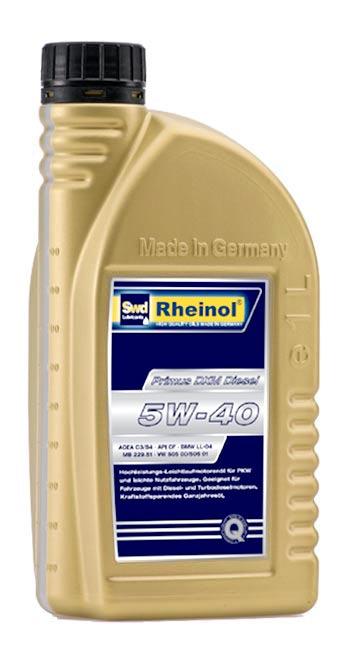 Rheinol Primus DXM 5W-40 1L