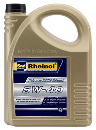 Rheinol Primus DXM 5W-40 5L