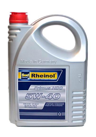 Rheinol Primus HDC 5W-40 5L