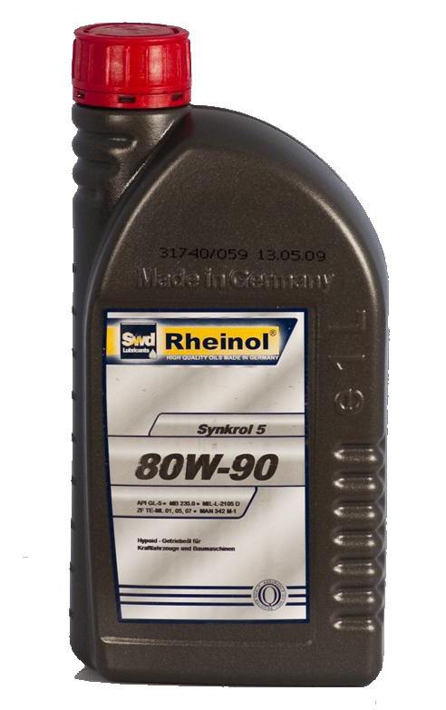 Rheinol Synkrol 5 80W-90 1L