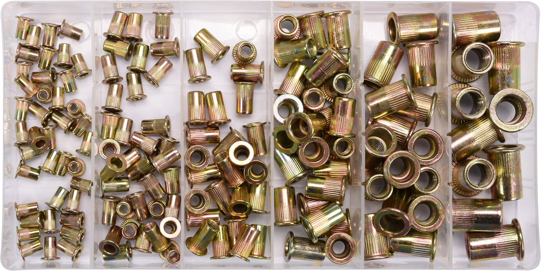 Set nituri cu filet M3-M10 150buc Fe