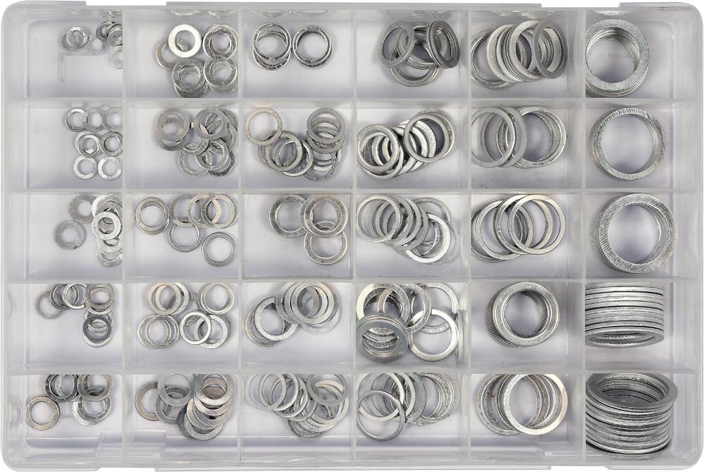 Set şaibe de aluminiu 300buc