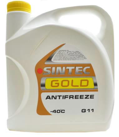 Sintec ANTIFREEZE-40 GOLD 5kg.(g12)