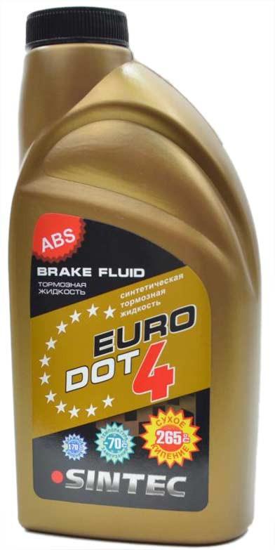 Sintec lichid de frina EURO DOT-4 910g.
