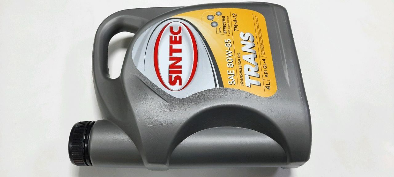SINTEC  SAE 80W-85 API GL-4 (TM 4-12) 4L